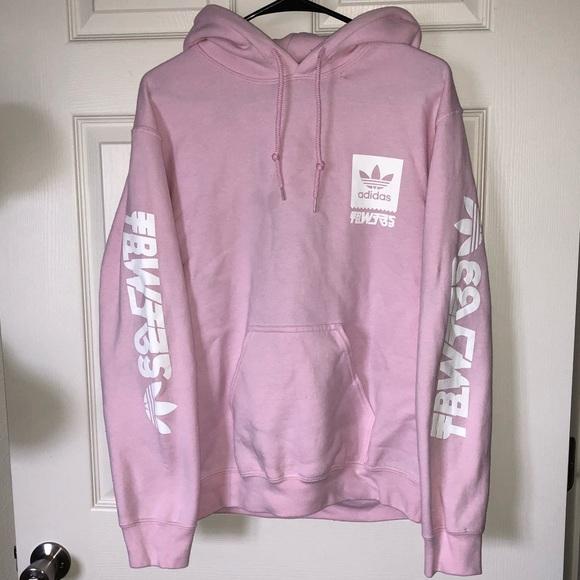 Adidas Jackets Coats Pink Sweatshirt Size Mens Small Poshmark
